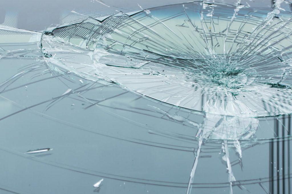 ガラス飛散防止フィルムのイメージ画像